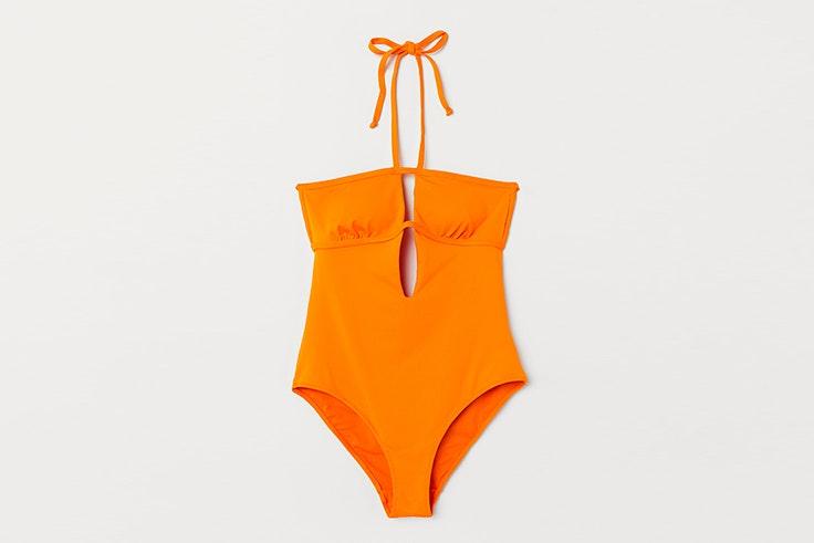 Bañador naranja de H&M