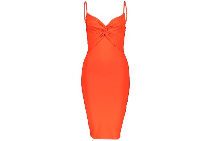 vestido-naranja-anudado-new-yorker-prendas-anudadas