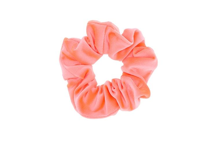 coletero scrunchies rosa claro claires