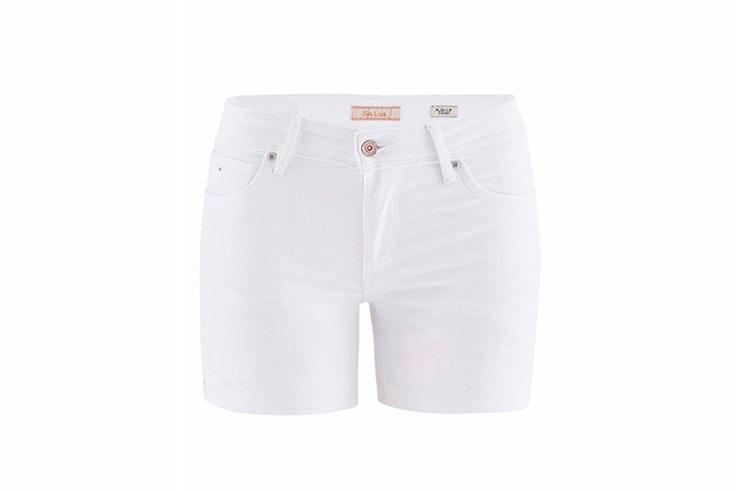 pantalón corto blanco salsa