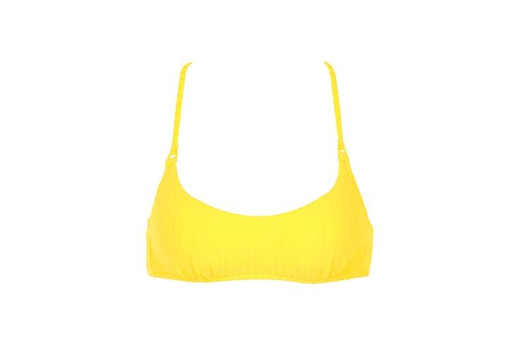 top-amarillo-bikini-calzedonia