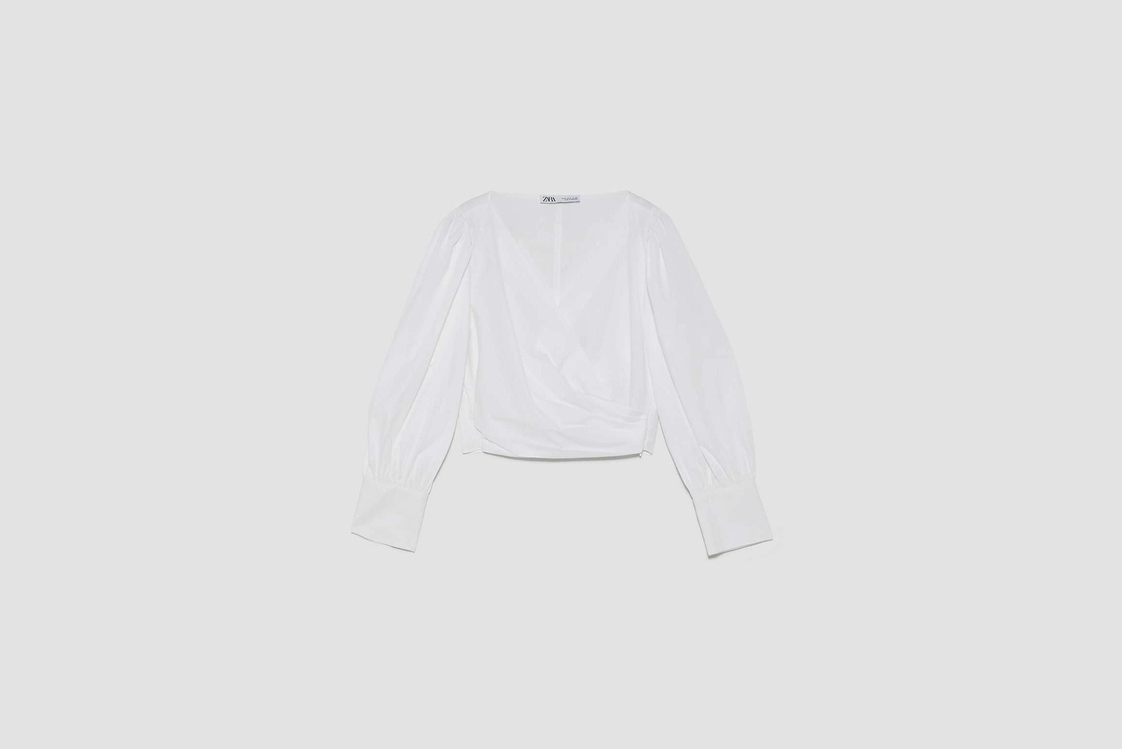 blusa abullonada zara el estilo de Paula Ordovás