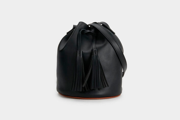 bolso negro saco parfois