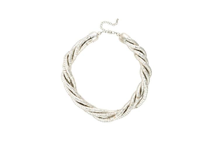 collar plata bijou brigitte