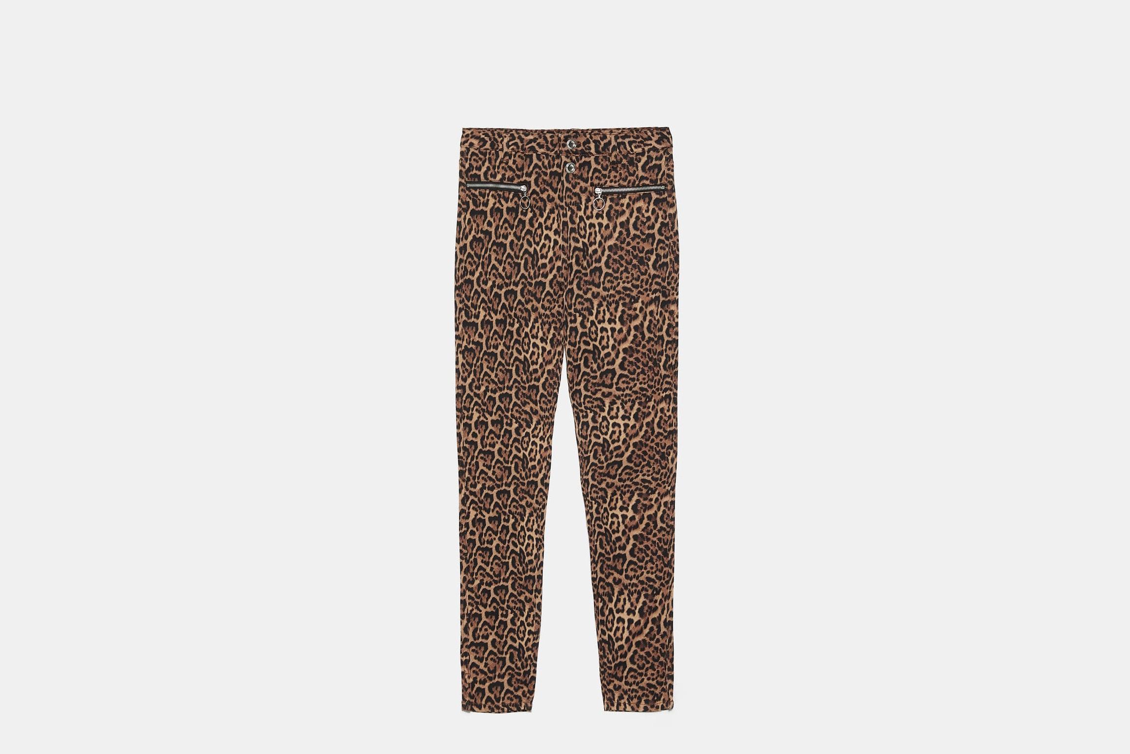 pantalon animal print zara el estilo de Mary Lawless Lee