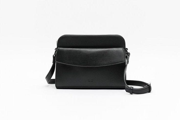 bolso negro bandolera misako