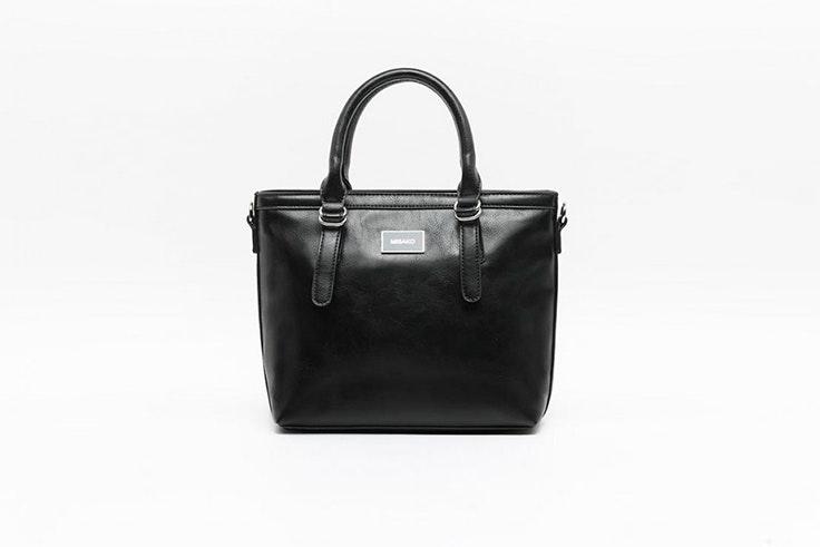 bolso negro sencillo misako