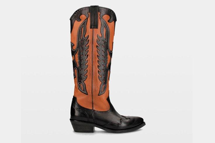 botas altas cowboy ulanka