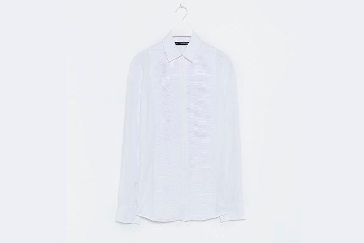 camisa blanca clasica sfera