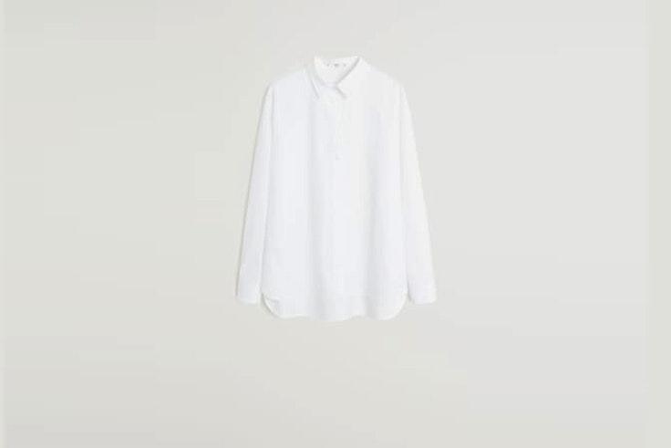 camisa mango esenciales de septiembre
