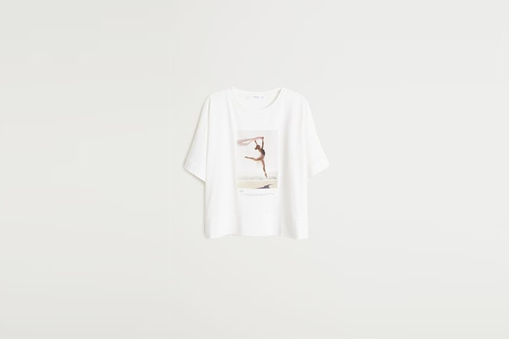 camiseta Mango el estilo de Elif Filyos
