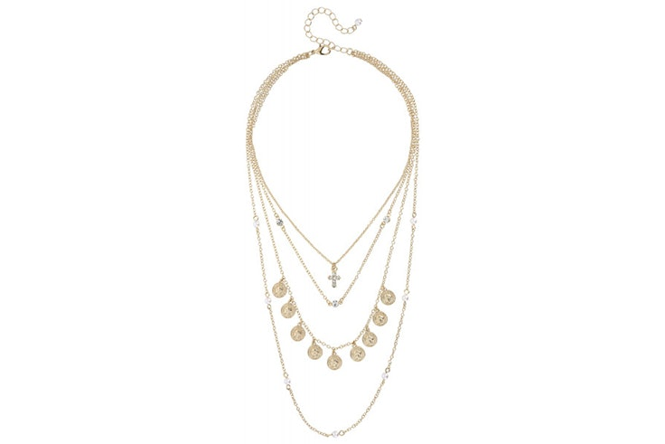 collar dorado bijou brigitte