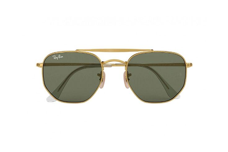gafas de sol metal dorado ray ban soloptical