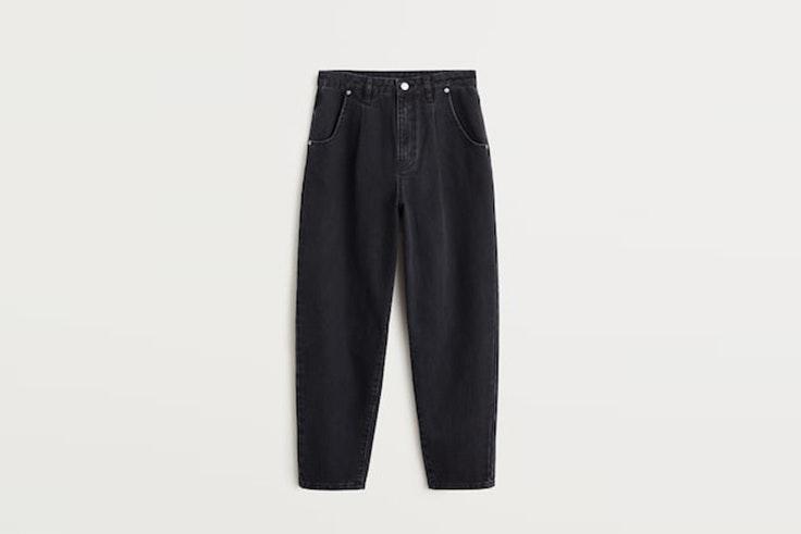 jeans slouchy negros de mango jeanette madsen