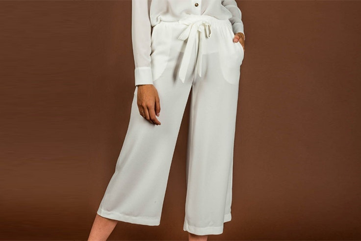 pantalon blanco culotte clp gran casa