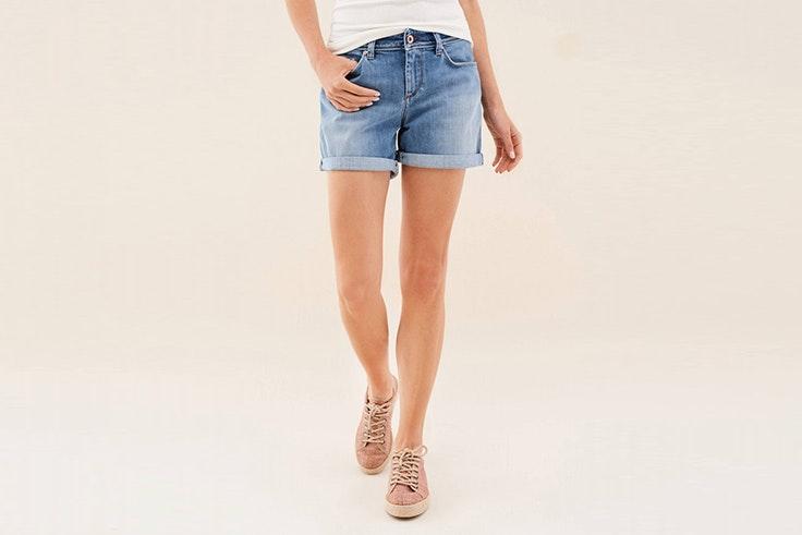 shorts salsa el estilo de Nadine Caldera