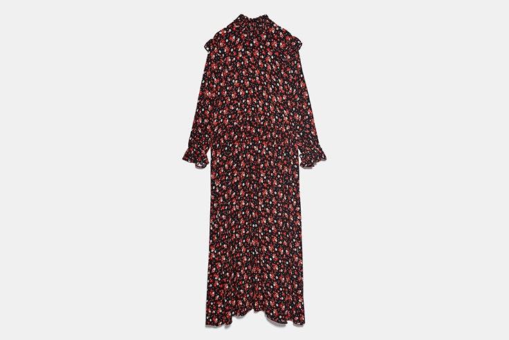 vestido zara esenciales de septiembre