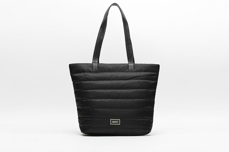 bolso shopper negro nylon misako Patricia Aguado