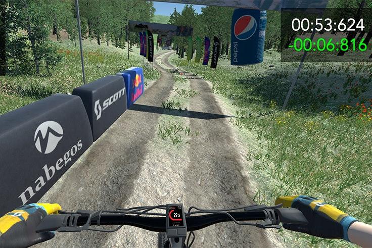 downhill-virtual