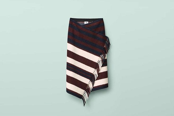 falda cruzada lana hym studio faldas