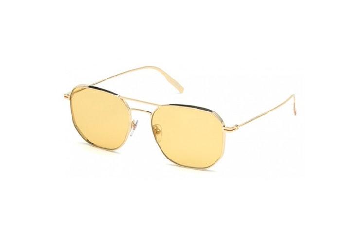 gafas de sol cristal amarillo ermenegildo zegna general optica