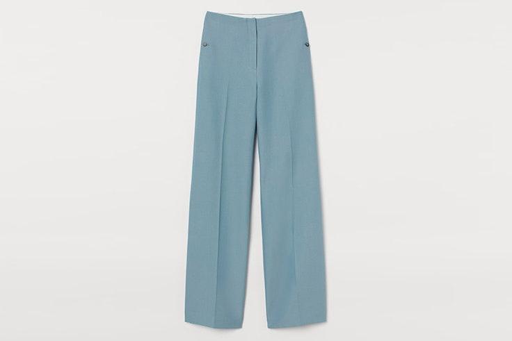 pantalon azul claro hm