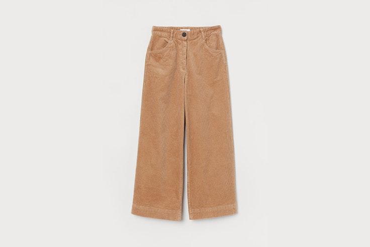 pantalon pana camel hym Carla Di Pinto