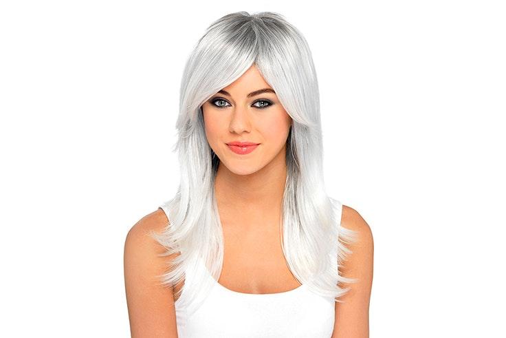 peluca blanca claires