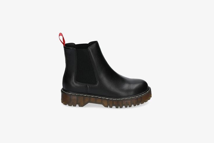 botas estilo militar con plataforma de Pablo Ochoa Shoes Danielle Bernstein