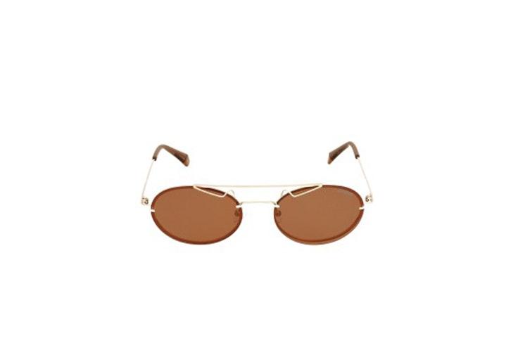 gafas de sol cristal naranja de general optica Danielle Bernstein