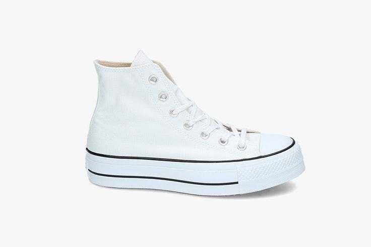 Converse blancas de plataforma. Disponibles en Pablo Ochoa