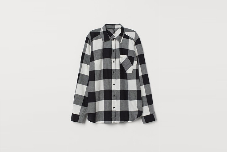 camisa de algodon de cuadros de hym Matilda Djerf