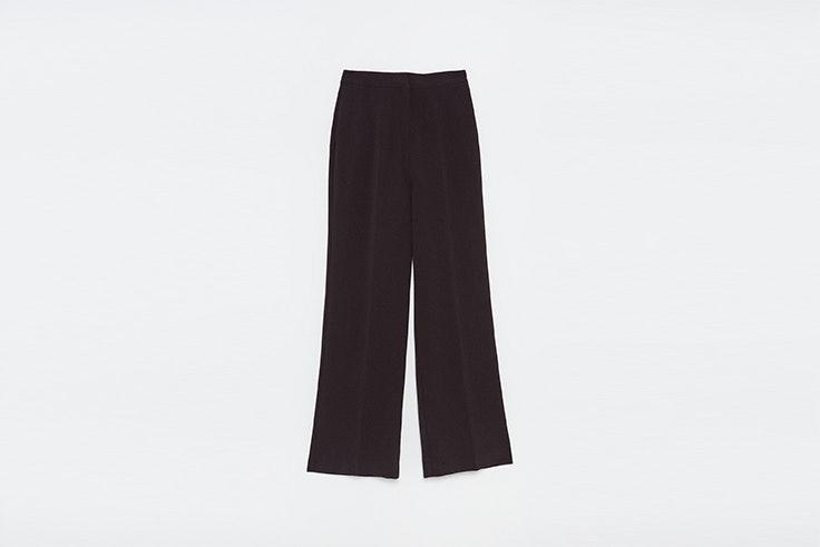 pantalon negro ancho de vestir de Sfera Matilda Djerf