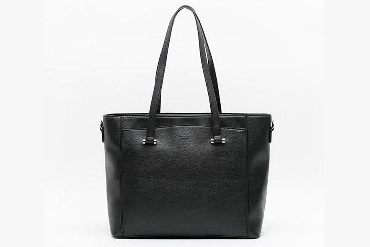 Bolso tipo shopper en color negro de Misako