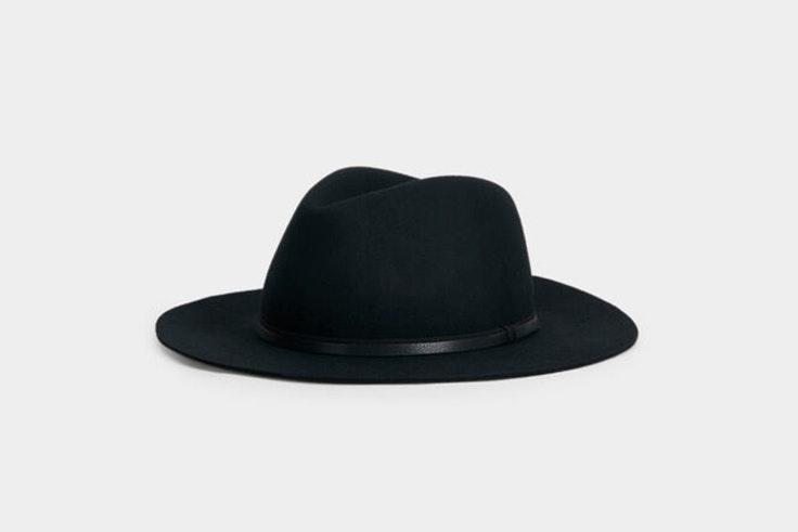 Sombrero de lana en color negro de Parfois
