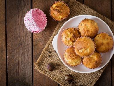 recetas de otoño: muffins de calabaza
