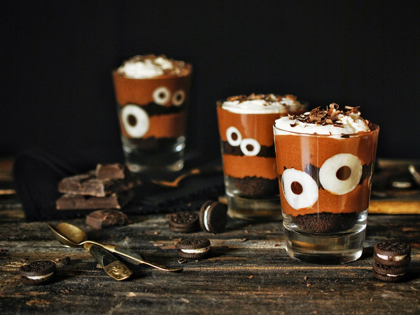 recetas de halloween con chocolate