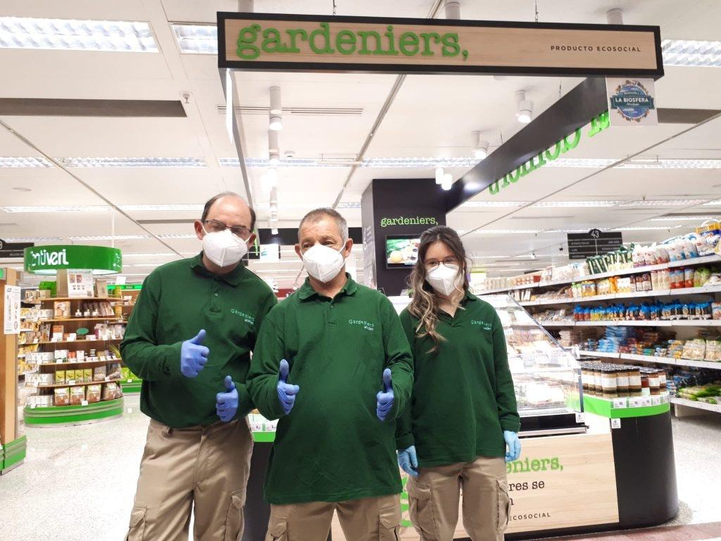 Corner de Gardeniers en el supermercado de GranCasa