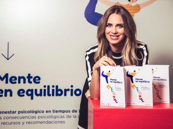 Vanesa Romero apoya la campaña Mente en equilibrio