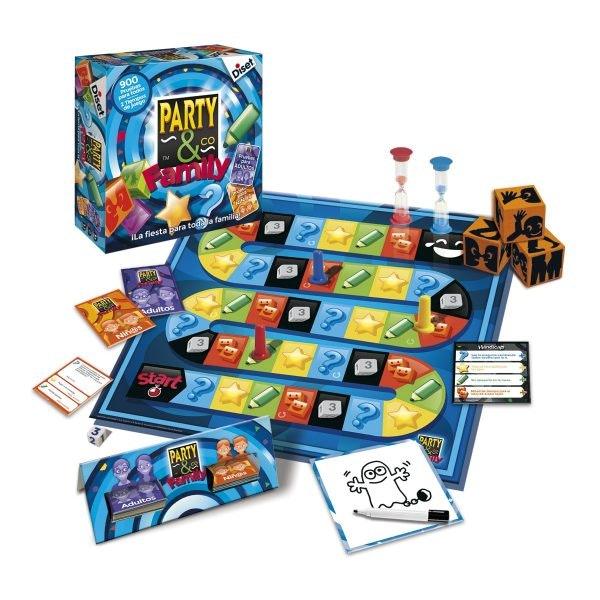 Los juegos de mesa más divertidos en familia
