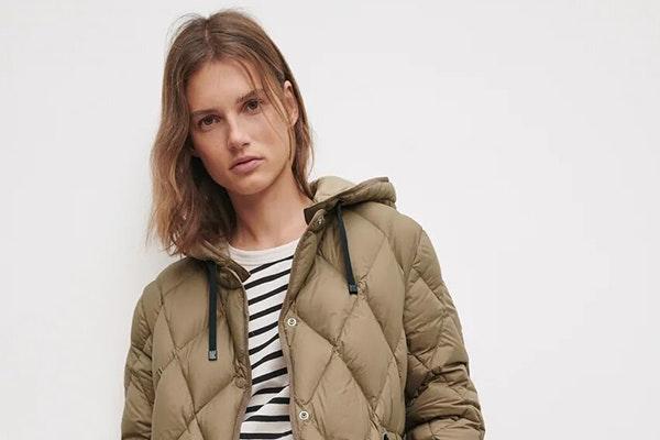 Los abrigos de Zara que están de moda: abrigos acolchados