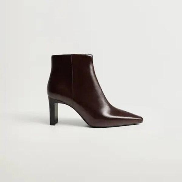 El calzado para el entretiempo que se llevará en 2021: botines de punta cuadrada