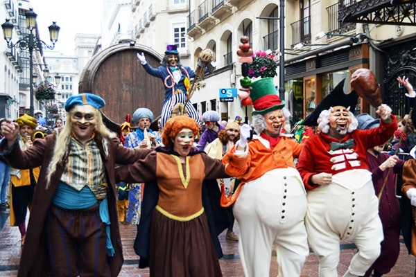 La historia de los carnavales en Zaragoza
