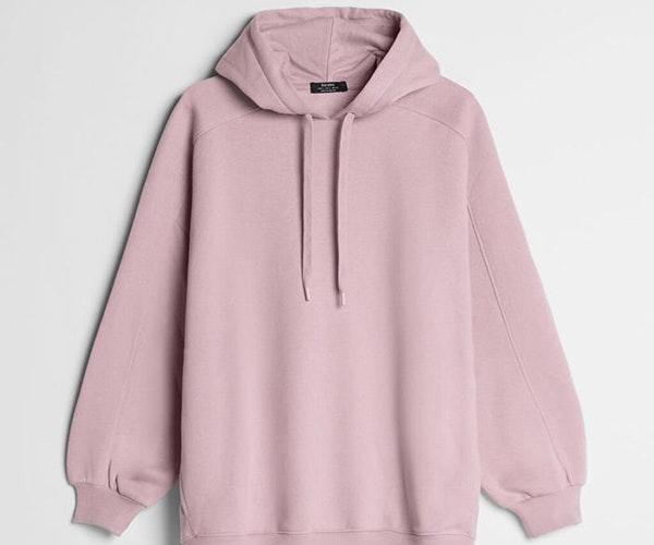 Sudadera rosa para un look comfy