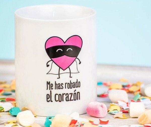 Ideas de regalos para San Valentín: taza