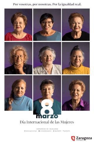 Día de la mujer en Zaragoza