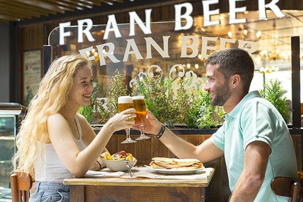 Comer en Zaragoza el Domingo de Pascua: Fran Beer GranCasa