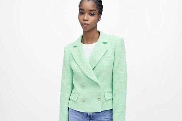 Se lleva el verde: blazer