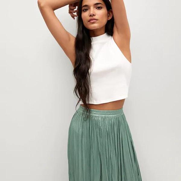 Se lleva el verde: falda