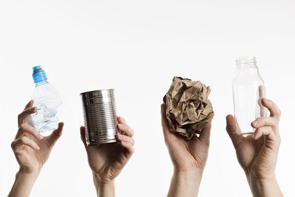 Reciclaje en el Día de la Tierra